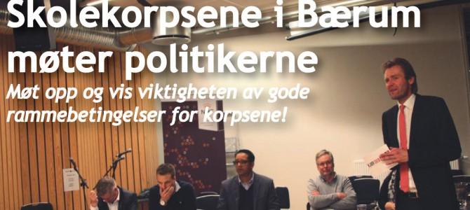 Møte med politikerne i Bærum