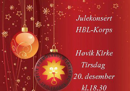 Julekonsert 20. desember 2016